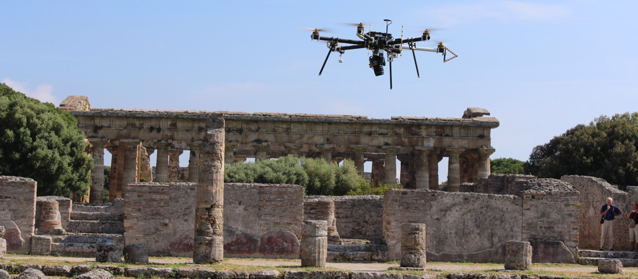 Hermitage mapping UAV